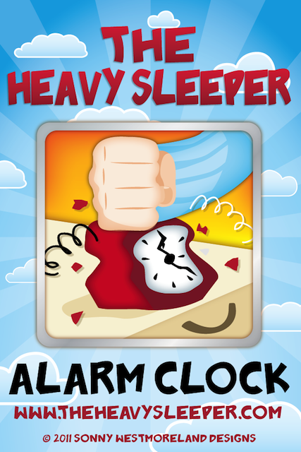The Heavy Sleeper Iphone Alarm Clock